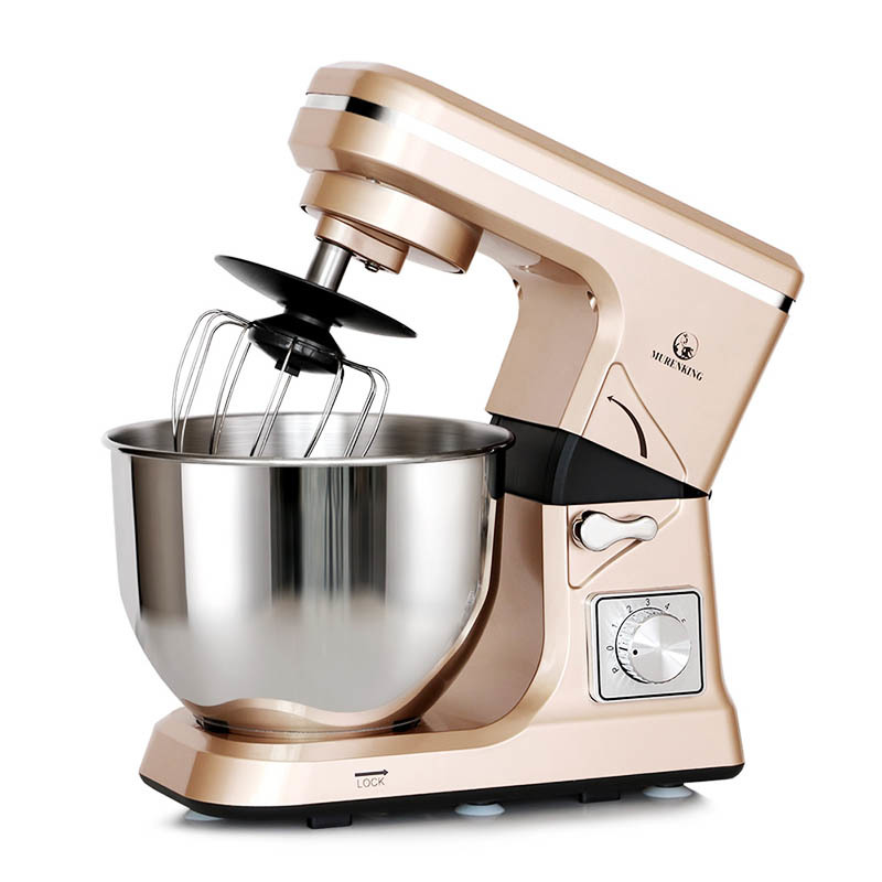 Tilt-Head Stand Mixer MK-36 1000W 5L Mixing Bowl 6 Speeds Control