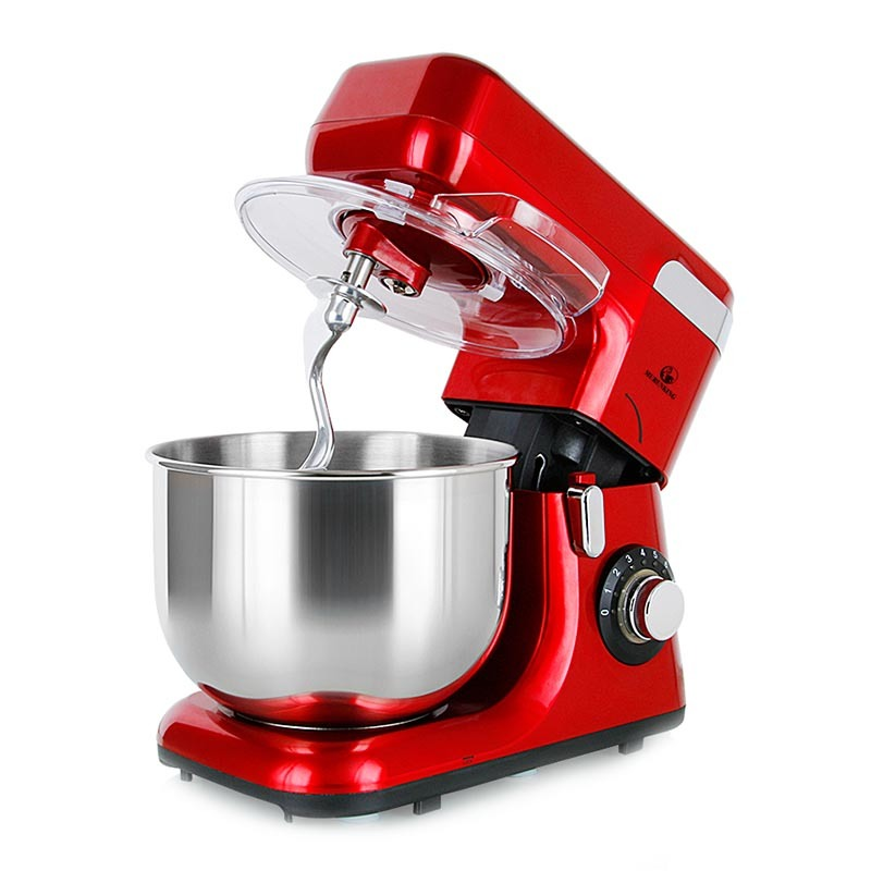 Powerful 1200W 5.5L Mixing Bowl 8 Speed Automatic Tilt-Head Electric Kitchen Food Mixer MK-55