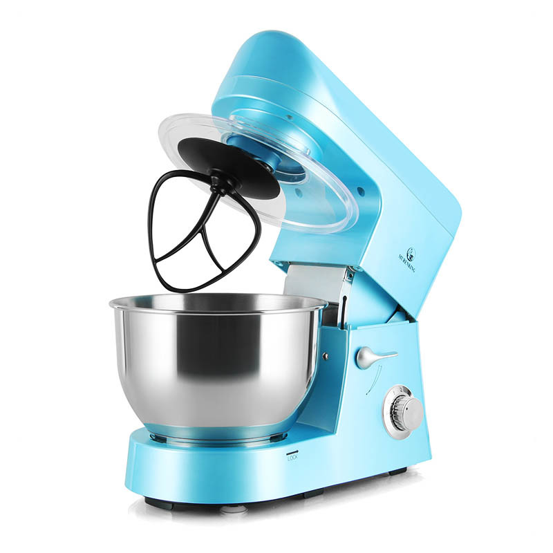 1200W 5L Professional 6-Speed Control Tilt-Head Stand Mixer for Kitchen SM-168