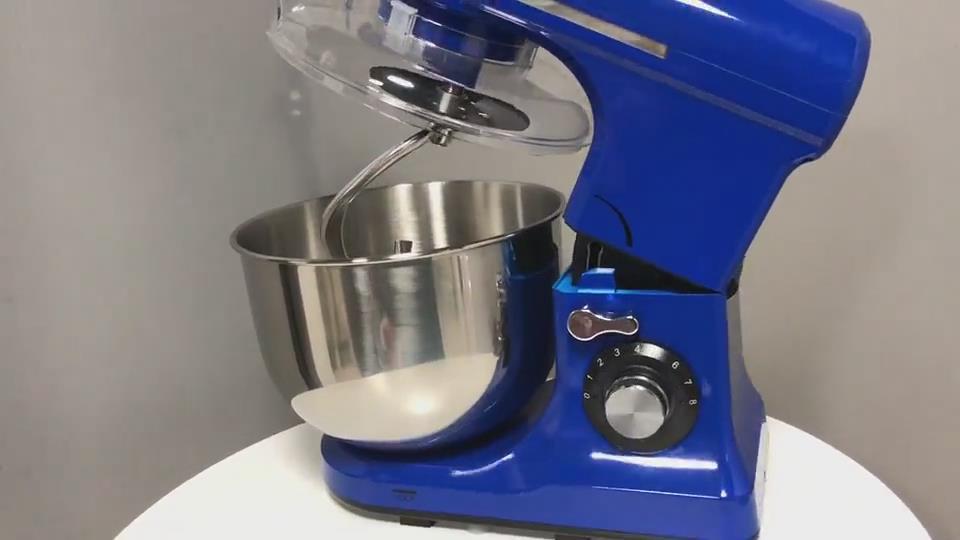 Powerful 1200W 5.5L 8 Speed Tilt-Head Electric Kitchen Food Mixer MK-55