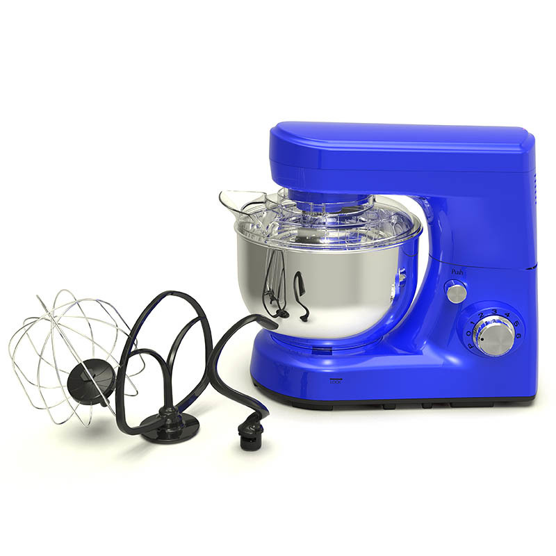 Small Kitchen Kneading Machine Cake Baking Stand Food Mixer High-Performance 5 Quart Button 1200 Watt MK-52