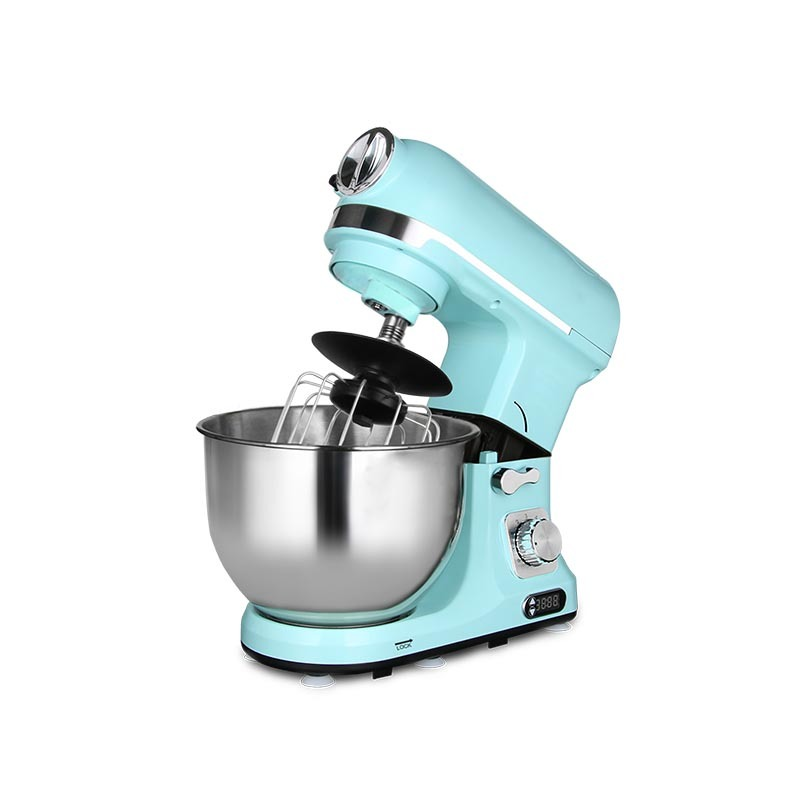 Professional 1000W Stand Mixer 5L Bowl 6-Speed Tilt-Head Multi-function Plastic Food Electric Mixer MK-37BG